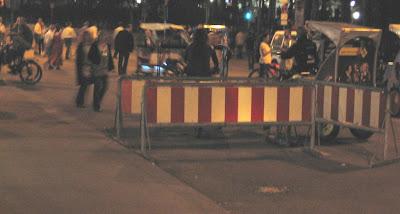Oktoberfest polis barikadı