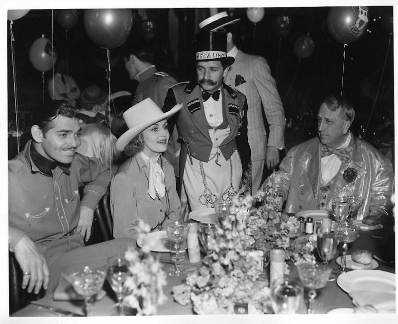 Clark Gable Carol Lombard And WR Hearst