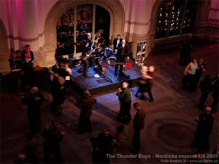 tedans, nordiska museet, dans, stockholm, thunder boys, marino valle