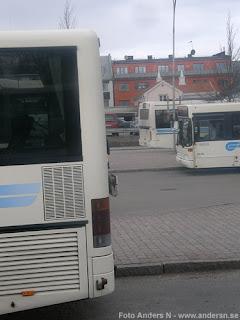 växjö, buss, bussterminal, station