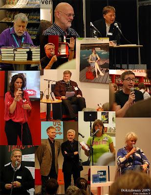 bokmässan, göteborg, 2009, bok- och biblioteksmässan, kända ansikten, kändisar, författare