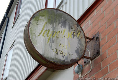 gammal skylt elektrisk old electric sign