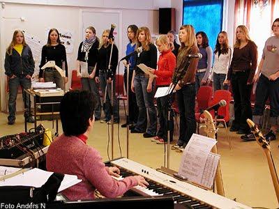 Högavångsskolan musikpaviljongen paviljong baracken holje musikklasser olofström foto anders n