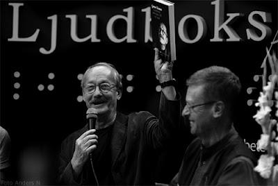 Gösta Ekman Klas Gustafson Farbrorn som inte vill va' stor, bokmässan bok- och biblioteksmässan i Göteborg 2010 foto anders n