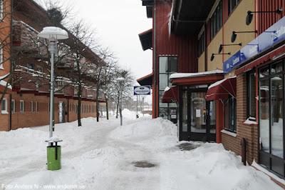 Olofström, Blekinge, snö, vinter, snow, winter, tandläkaren, folktandvårdenm nya torget, foto anders n