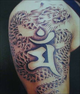 Asia tattoos-Japan Dragon tattoos China Dragon tattoos