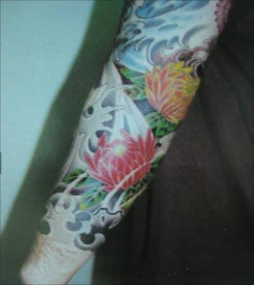 Asia tattoosFlower tattoos