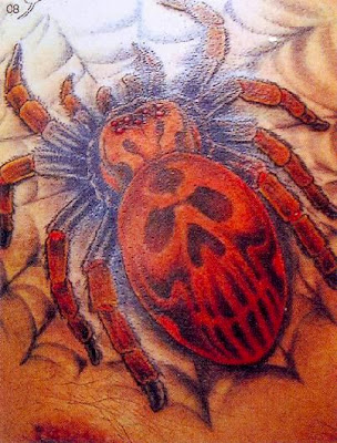 Asia Tattoo Spider