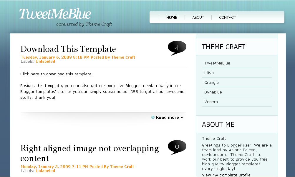 tweetmeblue blogger template veerublog. Black Bedroom Furniture Sets. Home Design Ideas