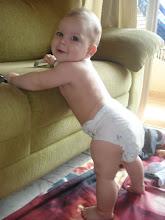 ♥Caio com 6 meses e meio: 9,075kgs e 67 cm