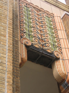 ornamentation from front entrance