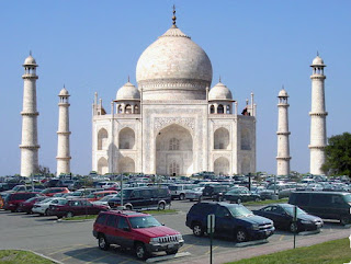 Taj Mahal, brought to you by the Agra Development Corporation