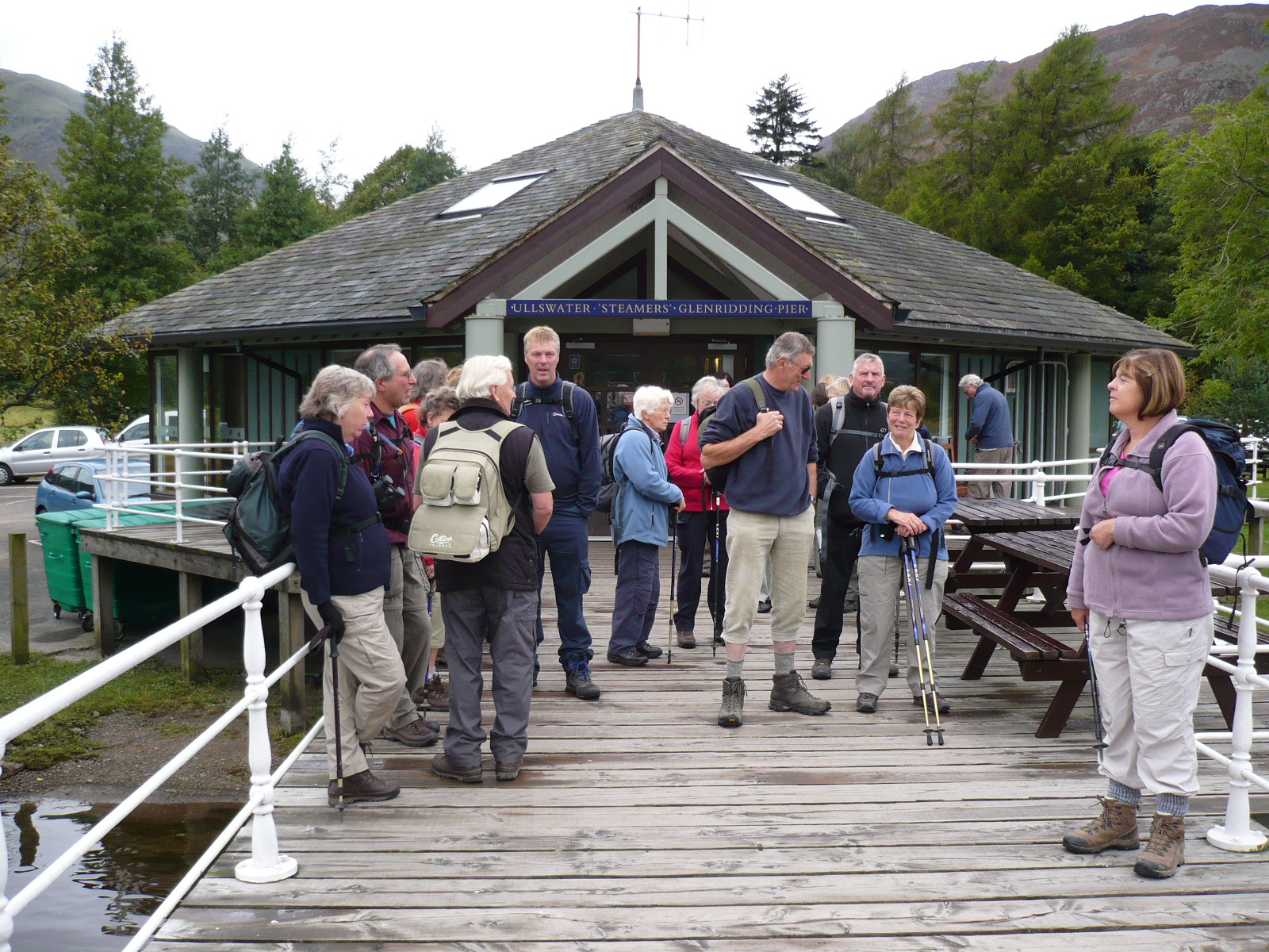 Hartsop hall cottages 171 walking holiday cottages walking - Ryedale Walking Group On The Jetty At Glenridding
