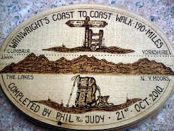Coast to Coast Plaque