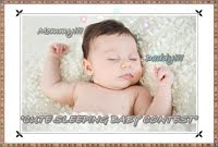 """CUTE SLEEPING BABY CONTEST"""