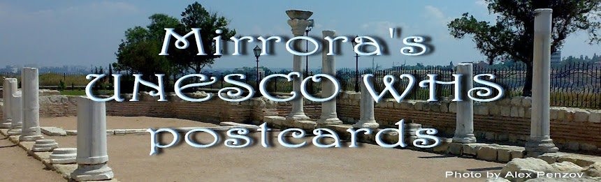 Mirrora's UNESCO WHS Postcards