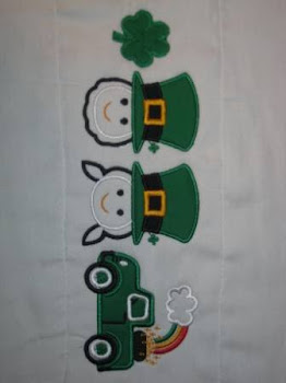 St. Patrick's Day Applique