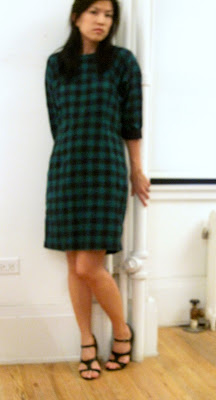 Wood Wood Autumn/Winter 2009 plaid dress @ Dream Sequins