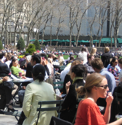 Lunchtime in the garment district from 39th and Broadway blog @ Dream Sequins