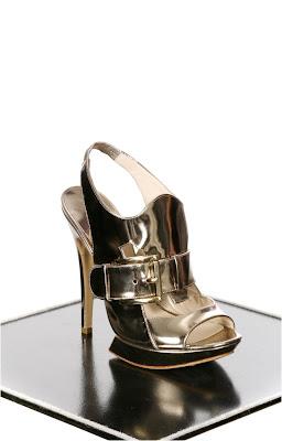 Nicholas Kirkwood gold platform sandals from Seven New York @ Dream Sequins