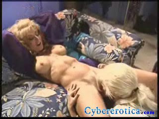 Nina Hartley gets her mature pussy licked by Julie Rage back stage at the strip club