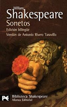 SONETOS DE WILLIAM SHAKESPEARE (ALIANZA)
