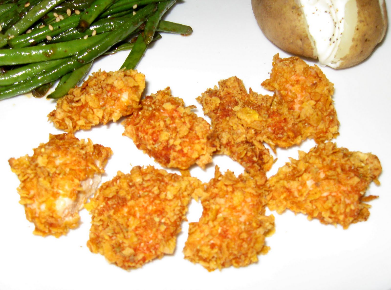 Does Dinner Healthy And Low Calorie Crispy Baked Chicken Nuggets