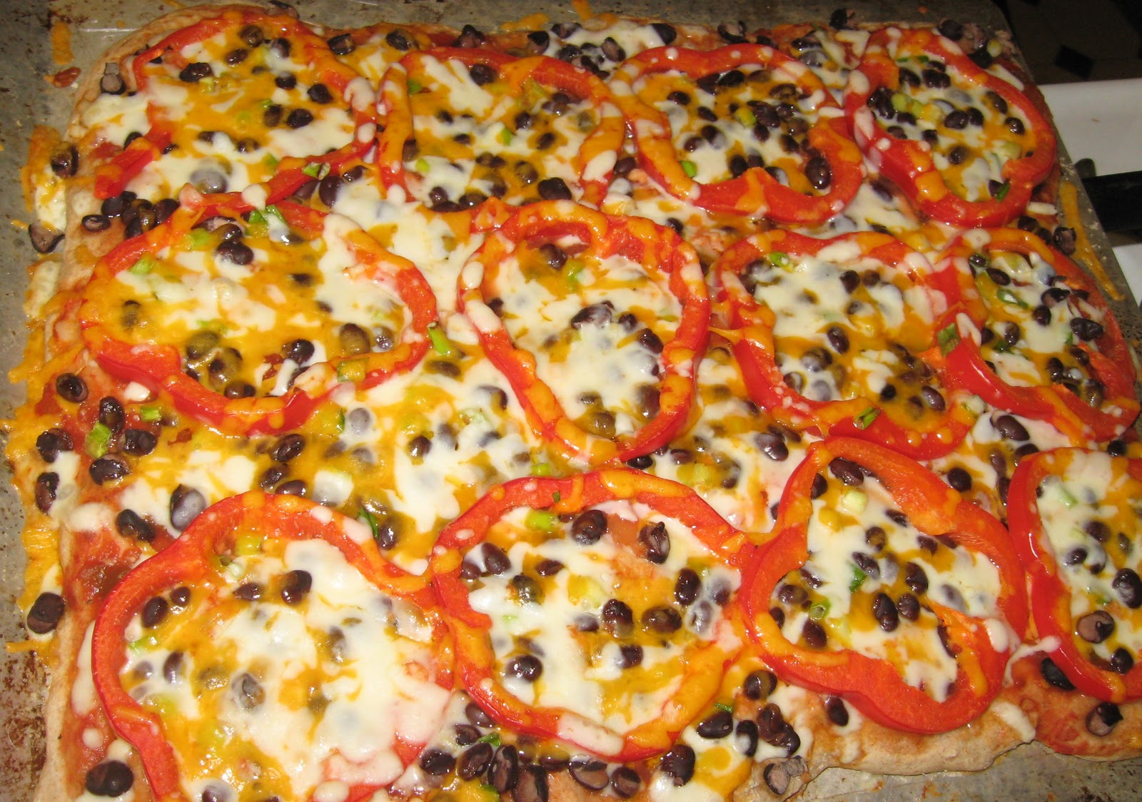 Southwestern Pizza With Black Beans And Corn Recipes — Dishmaps