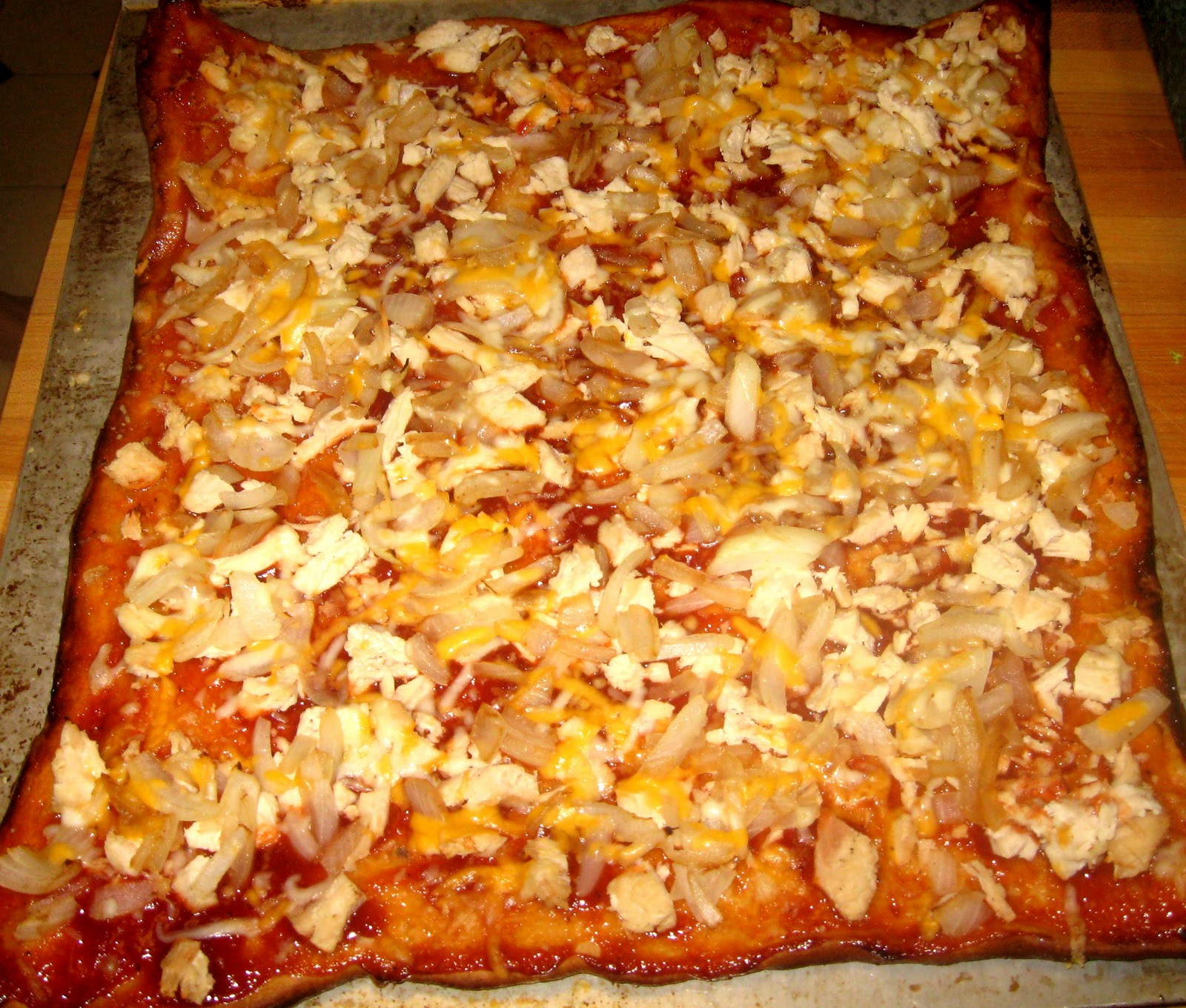 BBQ Leftover Turkey Pizza Recipes — Dishmaps