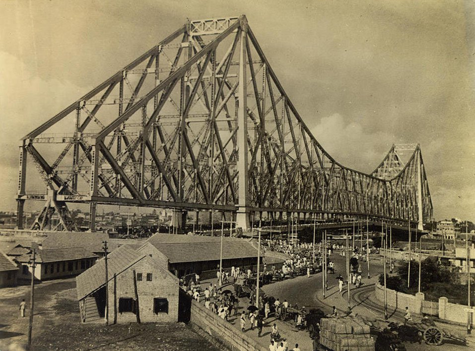 Calcutta Howrah Bridge