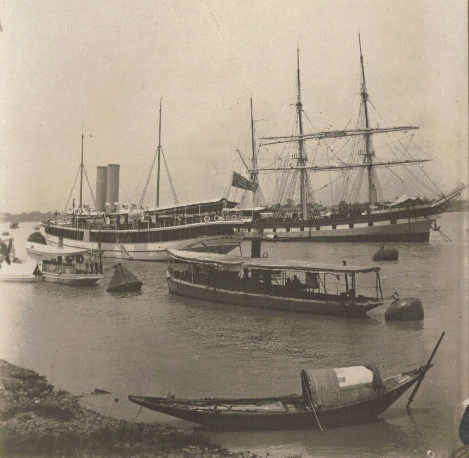 c.1903, Hooghly River, Port of Calcutta