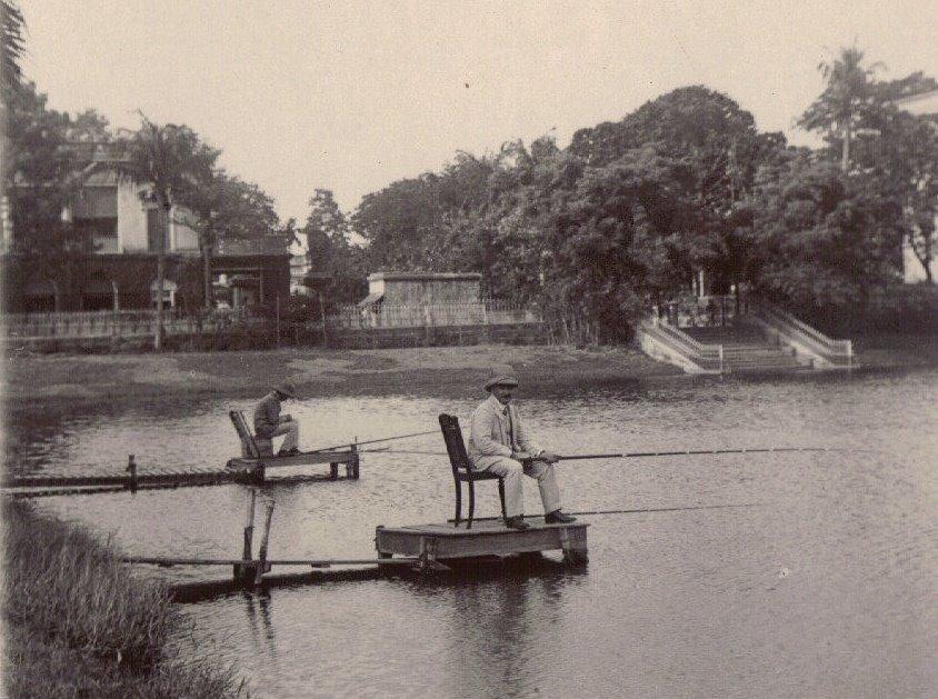 Gone Fishin' Calcutta Style, c.1903