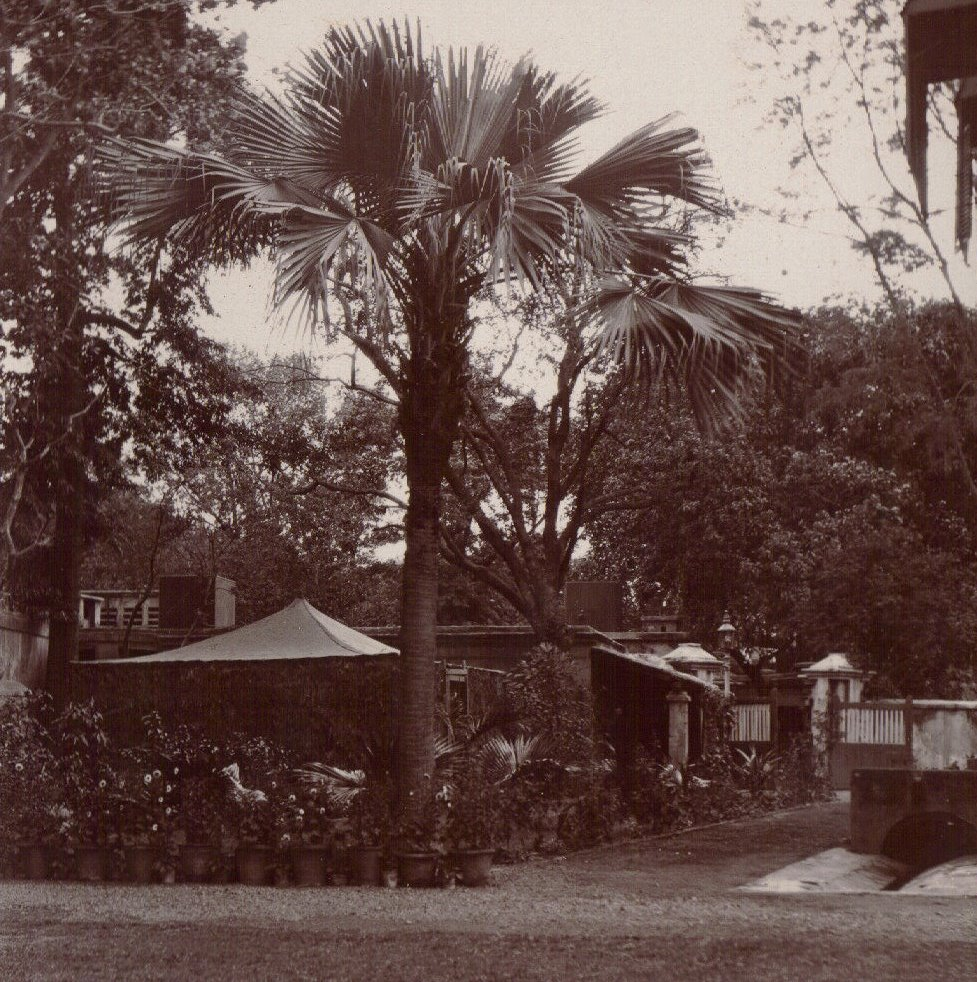 Exterior of Pandy's House (probably) , Calcutta c.1903