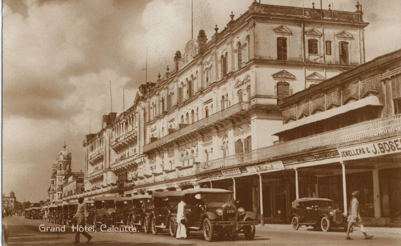 1903 Grand Hotel Calcutta