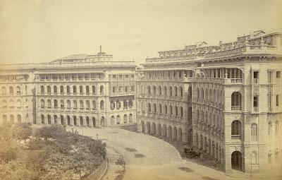 Elphinstone+Circle,+Bombay+1870