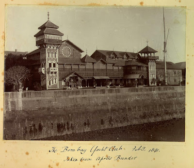 The+Bombay+Yacht+Club,+February+1891.+Taken+from+The+Apollo+Bunder,+Bombay