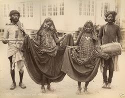 Various Vintage Photographs of Indian Nautch (Dancing) Girls