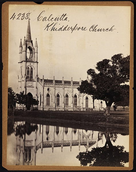 Khidderpore Church Calcutta ( Kolkata ) - Mid 19th Century