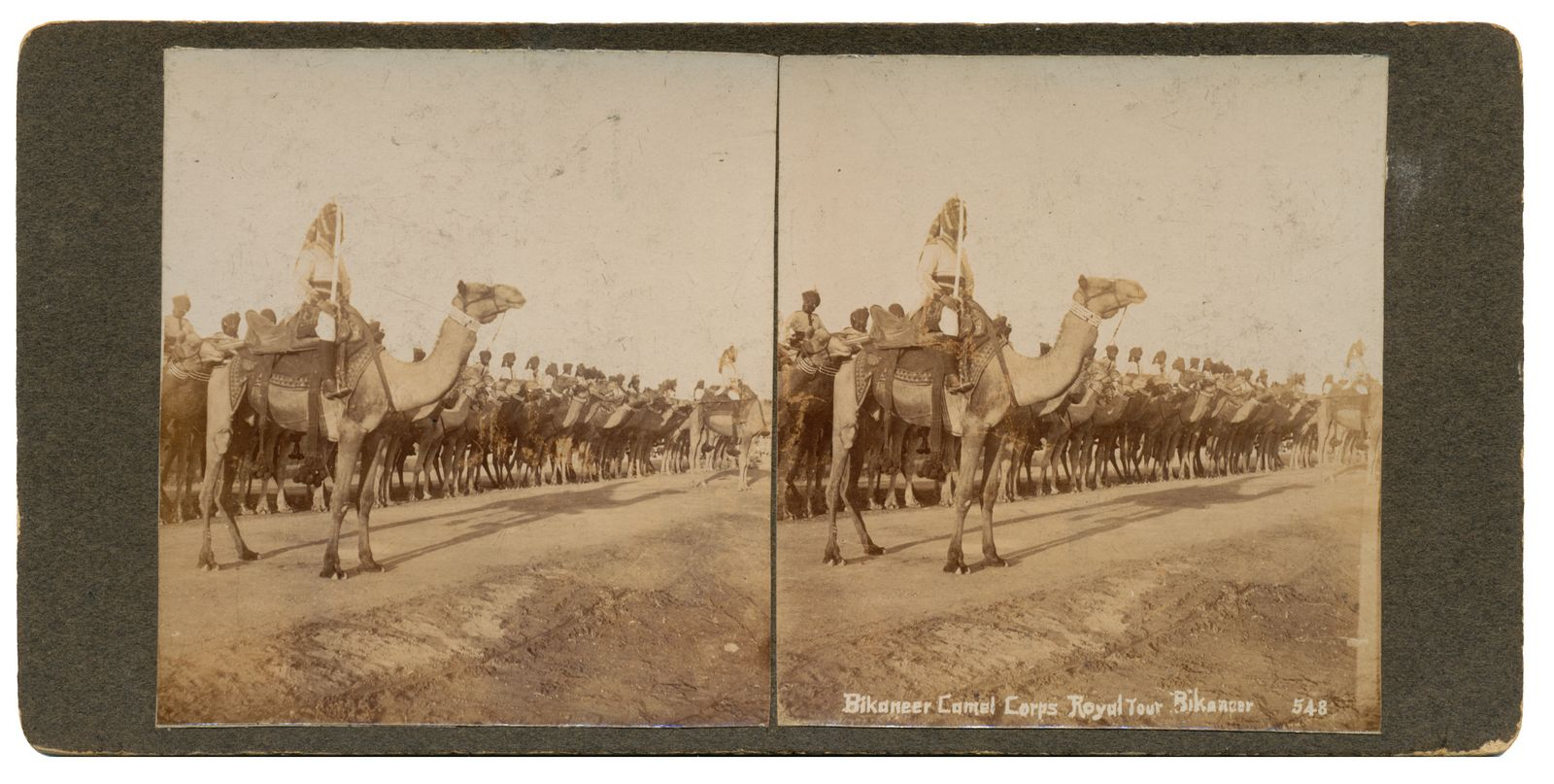 Bikaneer Camel Corps Royal Tour