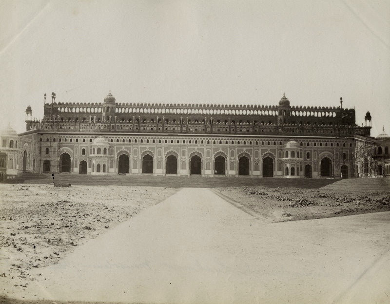 Great imambara lucknow 1880 39 s old indian photos for Home architecture in lucknow