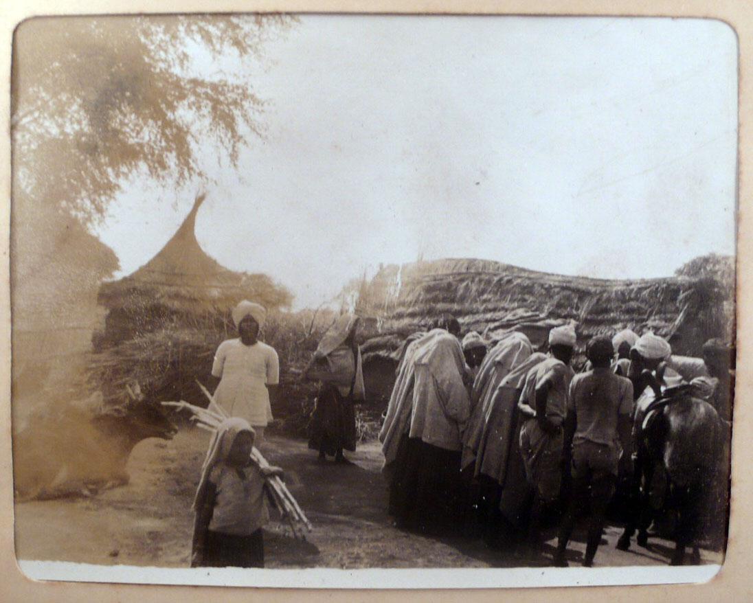 Indian Village Women - 1902