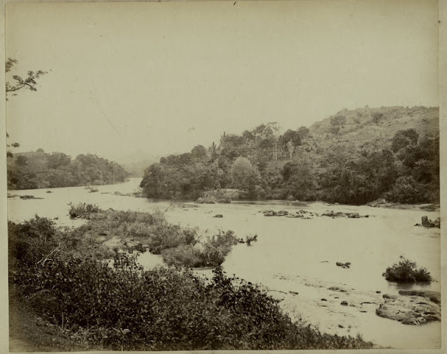 c.1890%2527s+PHOTO+INDIA+CEYLON+RIVER+SCENE