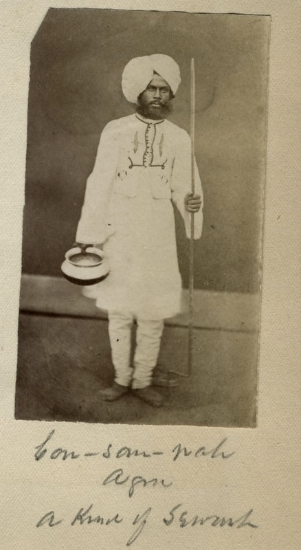 c.1880%2527s+PHOTO+INDIA+A+SERVANT+FROM+AGRA