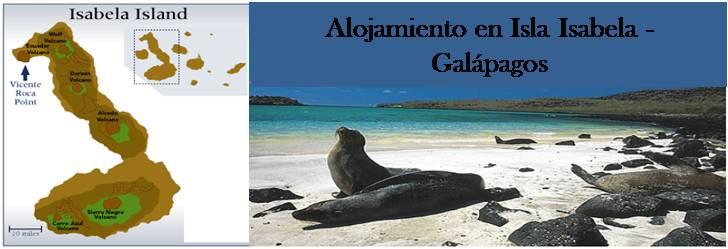 Turismo: Alojamiento en Isla Isabela Galapagos, Ecuador