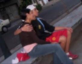 Una de las primeras fotos juntos, hace casi 5 años cuando descubrimos éste amor..