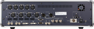 Datavideo HS-2000 rear view connections panel