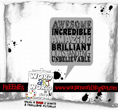 http://wordartworld.blogspot.com/2009/10/talk-bubble.html