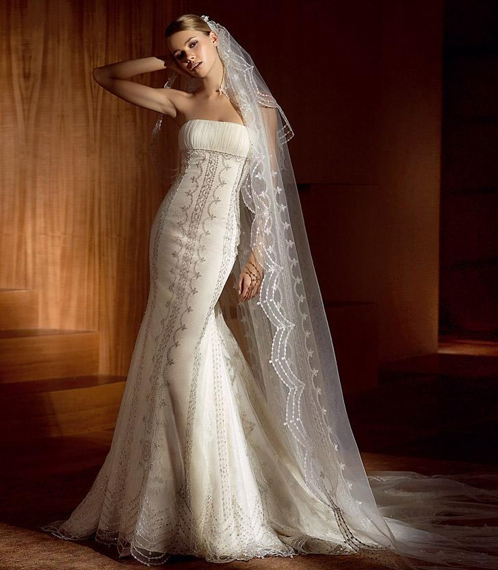 Gorgeous wedding dress lace wedding dress for Lace dresses for weddings