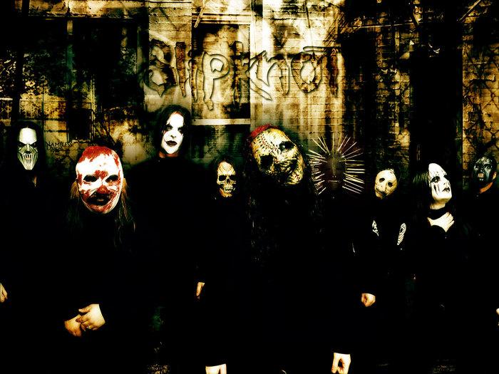 Rock Band Wallpapers: Slipknot Wallpaper