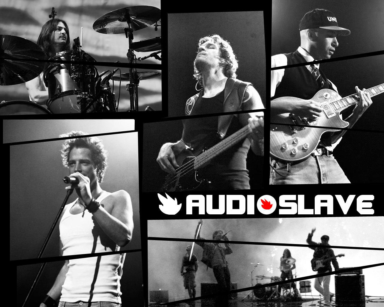 Rock Band Wallpapers: Audioslave Wallpaper